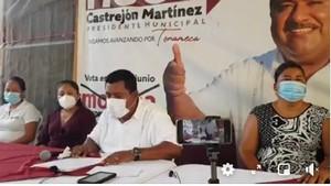 Hugo Castrejon Martinez candidato de MORENA