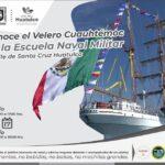 """El Sector Naval invita a conocer el Buque Escuela Velero ARM """"Cuauhtémoc"""""""