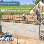 En Arroyo Xúchitl trabajamos en la construcción de un puente vehicular