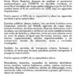 Huatulco en semáforo amarillo hasta el 10 de noviembre 2021
